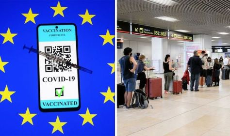 EU vaccine passport chaos as airport time increases by 500% - 'total lack of coordination'