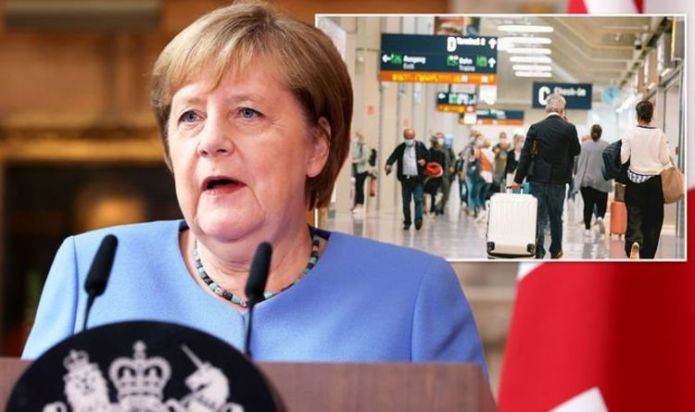 Europe holiday boost: Angela Merkel backs down on vaccinated UK holidaymakers