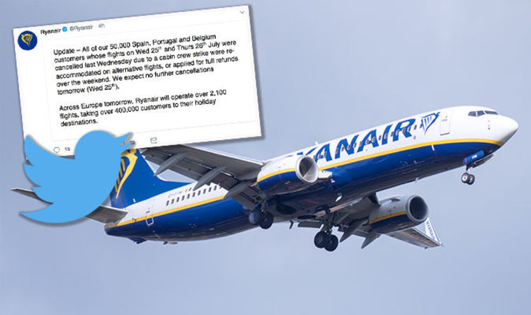 Ryanair flight cancellations LIVE Updates as 600 flights across Europe cancelled  Travel News