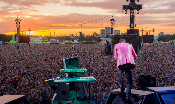 BST Hyde Park: The Killers entertain sell-out crowd at Hyde Park ...