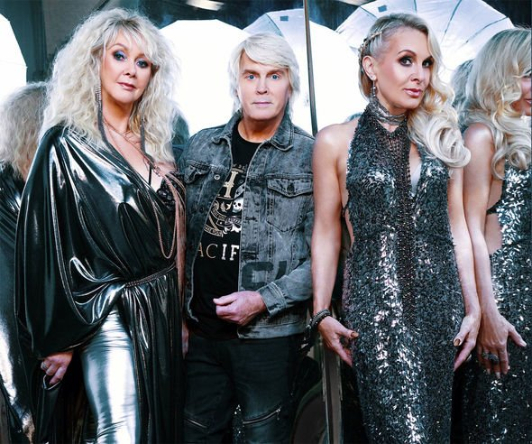 Bucks Fizz: Cheryl, Mike and Jay have formed The Fizz