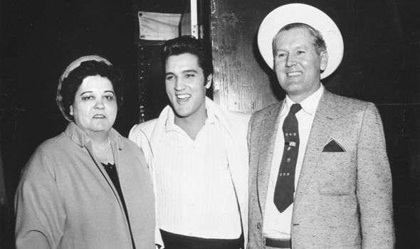 Elvis' parents Vernon and Gladys had to co-sign his early contracts