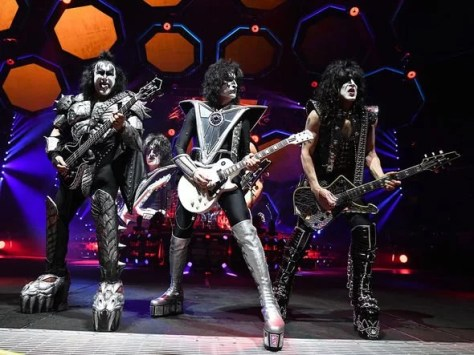 Kiss on tour in 2019