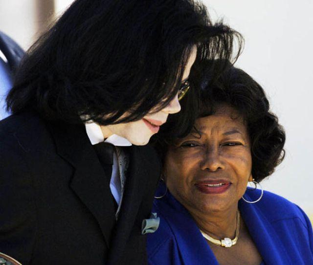 Michael Jackson And His Mother Katherine