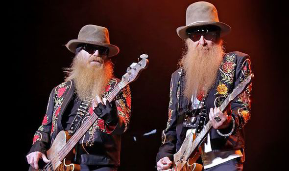 live review zz top