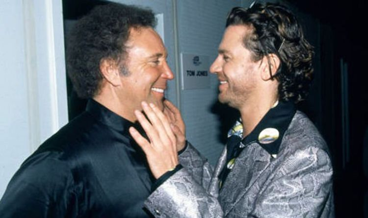 Tom Jones' memories of his friend Michael Hutchence and how INXS star struggled with fame