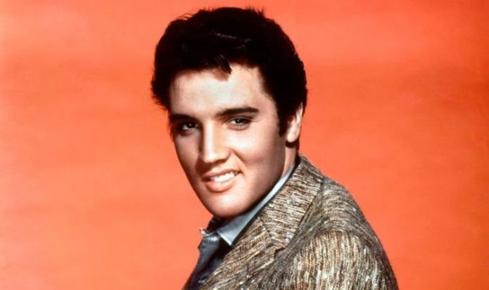 Elvis Presley changed his look in unexpected way using shoe polish