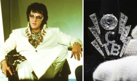 Elvis Graceland archives tour: The King's bling and Lisa Marie's fantastic reaction to it