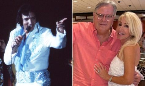Elvis Presley's ex Linda Thompson reunites with King's stepbrother at old Las Vegas Hilton