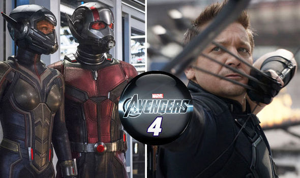 Ant-Man and the Wasp Hawkeye cameo in after credit scenes
