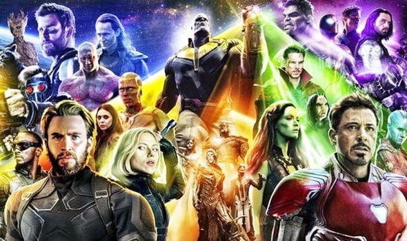 avengers infinity war smashes