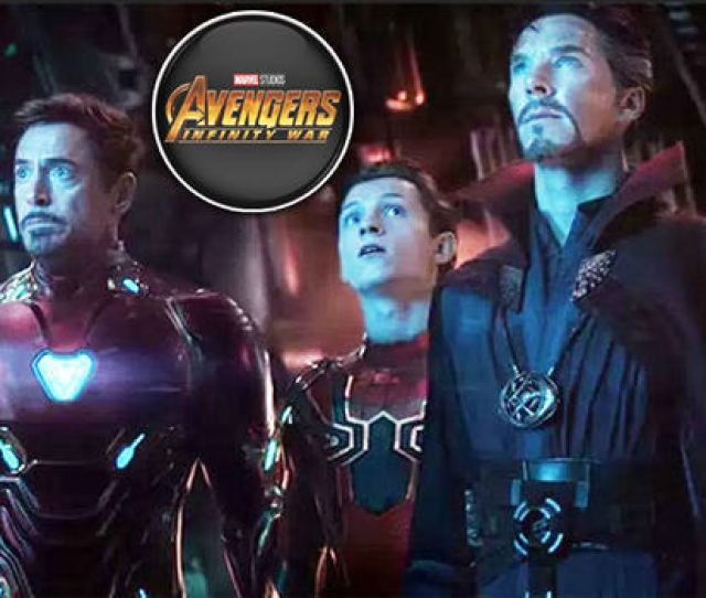 Iron Man Dr Strange Spider Man Marvel Infinity War