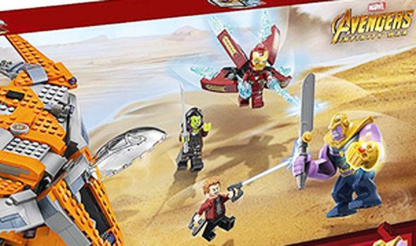 Avengers Infinity War LEGO sets