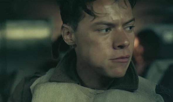 Dunkirk  Harry Styles life is in danger in NEW tense