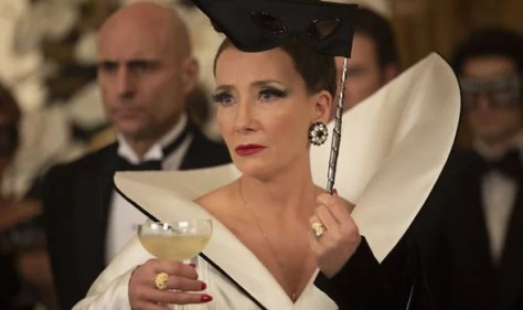 Emma Thompson as the Baroness