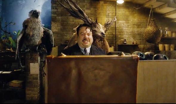 Fantastic Beasts 2 Jacob is back
