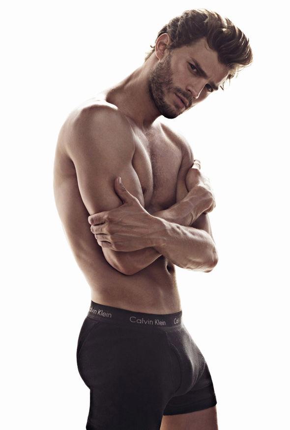 Fifty Shades Freed star Jamie Dornan modelled underwear for Calvin Klein
