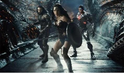 Justice League review; Wonder Woman, Aquaman, Cyborg