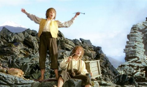 Lord of the Rings merry and pippin