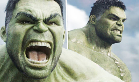 the hulk is angry