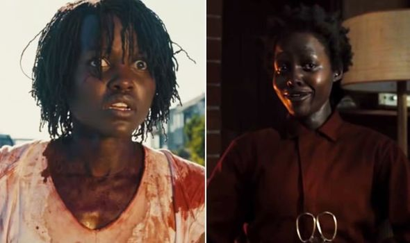 lupita as both red and Adelaide