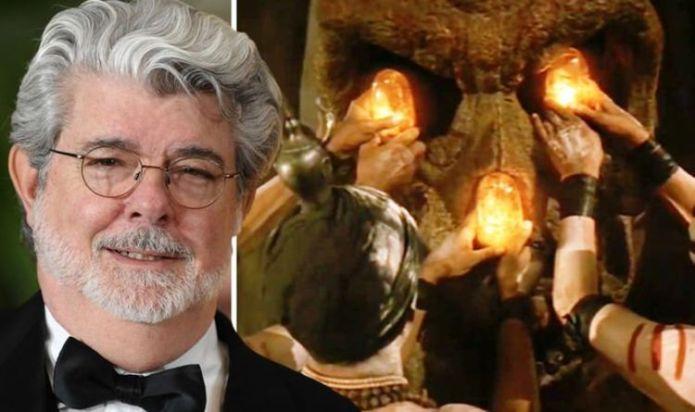Indiana Jones George Lucas: Temple of Doom's 'Sankara Stones were a bit of a reach'