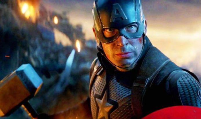Avengers Endgame: Captain America Mjolnir scene directly referenced First Avenger movie