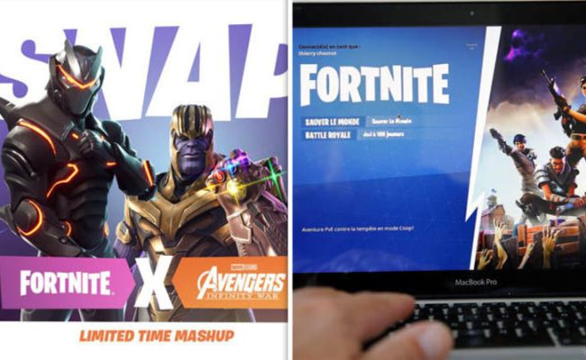 Avengers Infinity War What Is The Fortnite Update When