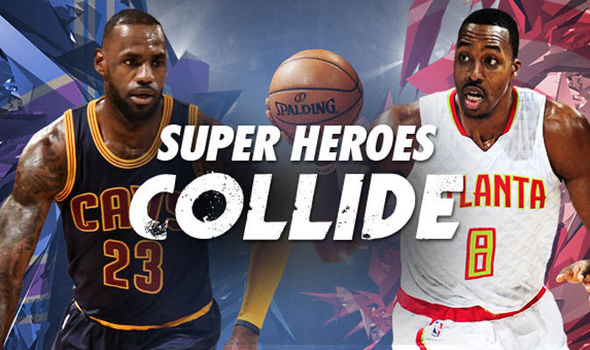 LeBron James will face off against Dwight Howards
