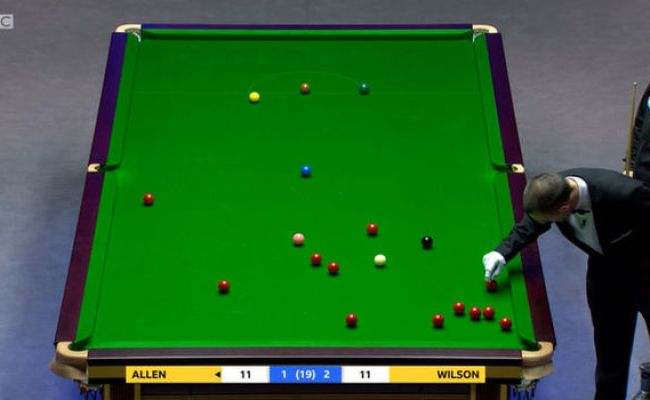 Masters Snooker Disrupted Bizarre Incident Stops Final