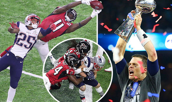 New England Patriots star Tom Brady had a memorable night
