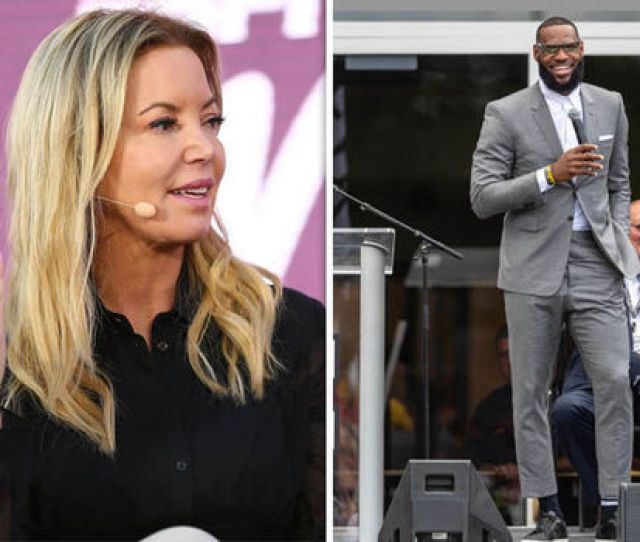Jeanie Buss Fired Back At Fans Unhappy At The Prospect Of Lebron James Arrival In Los Angeles Image Getty
