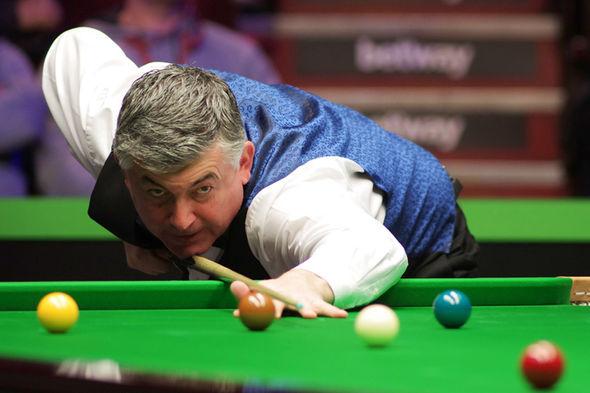 John Parrott snooker player