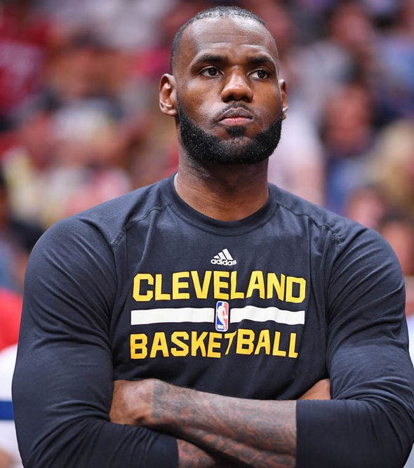 LeBron James averaged more minutes than any other player in the regular season