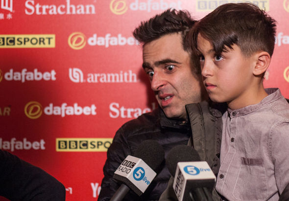 Ronnie O'Sullivan snooker player