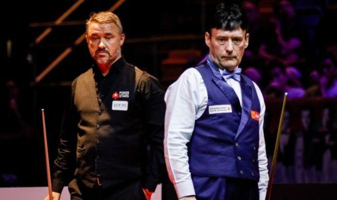 Stephen Hendry vs Jimmy White LIVE: Score updates from World Snooker Championship