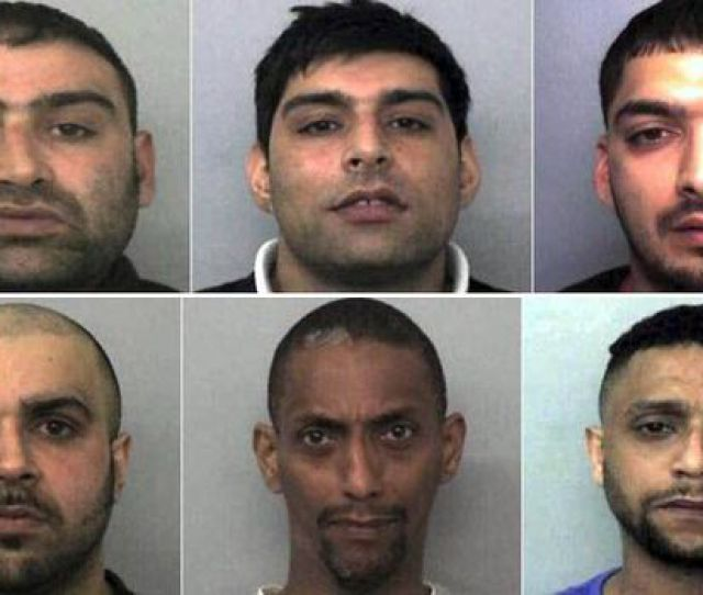 Six Members Of The Paedophile Ring In Oxford