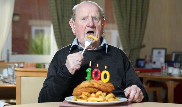 Yorkshireman S Diet Of Fish Suppers Is His Key To Reaching