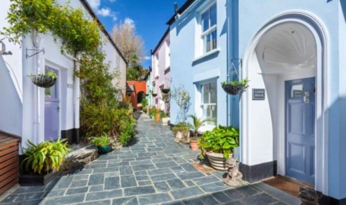 For sale: Stunning 'village within a village' in Devon is on the market for £1.5million
