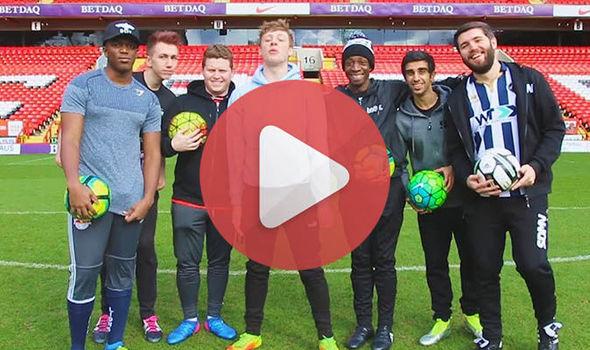The Sidemen and YouTube Allstars