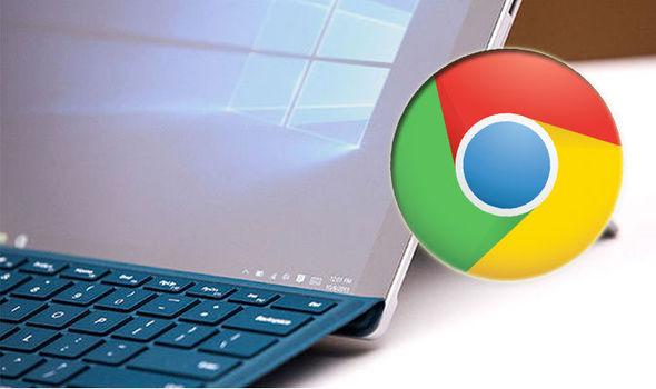 windows 10 chrome google microsoft adverts