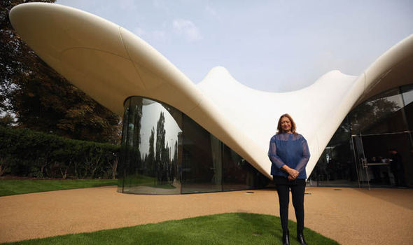 Zaha Hadid at the Serpentine Sackler Gallery
