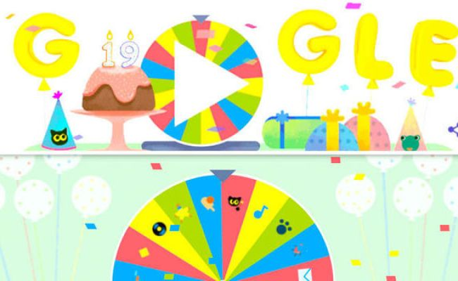 Google Birthday Surprise Spinner How To Play The Google