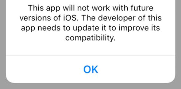 Apple warns users who open 32-bit apps that support is set to end soon