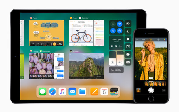 Apple has redesigned multi-tasking on the iPad, and has updated the camera app on iPhone