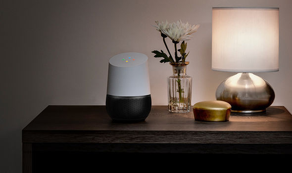 Google lets you customise the colourful base of the Home speaker, so that it fits with your decor