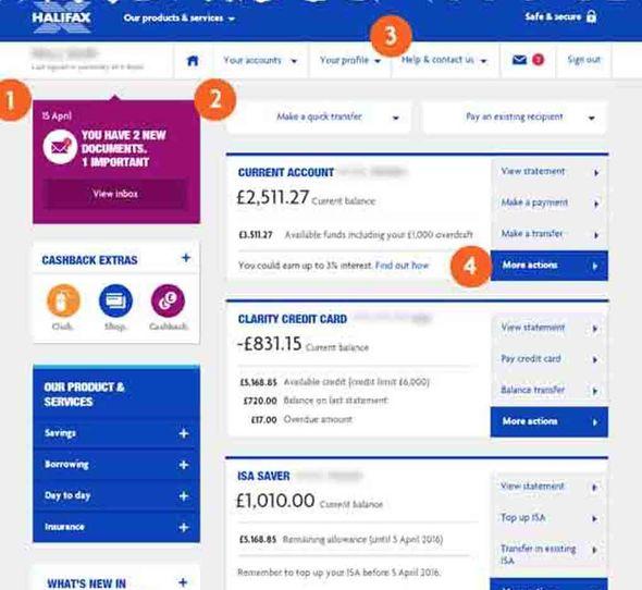 Halifax Online Login How To Login To Your Halifax Online Banking Express Co Uk