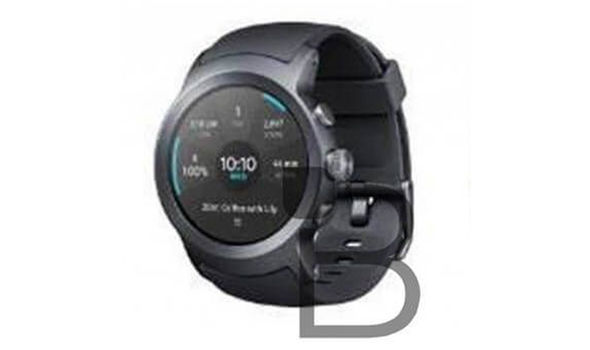 The only leaked image of the LG Watch Sport is a low-resolution picture, showing three buttons