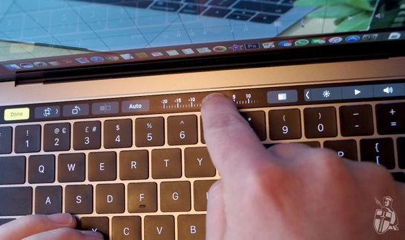 macbook touch bar microsoft office update word