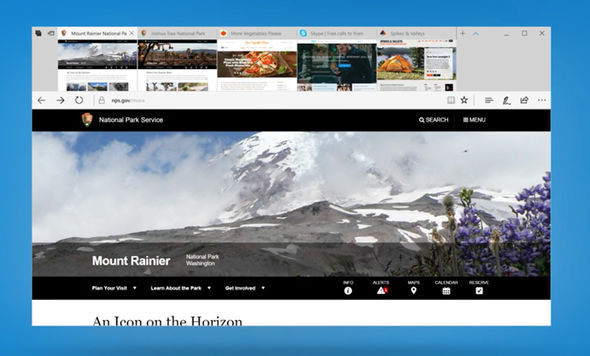 Microsoft Edge users will be able to preview the contents of tabs with a new visual interface
